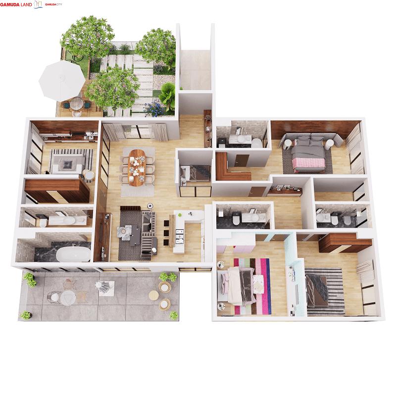 Penthouse Gamuda