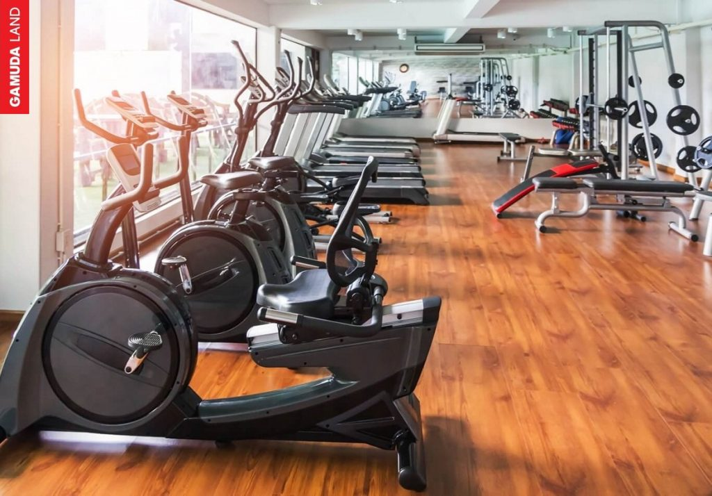 Phòng gym tầng 5 tòa The zen Residence Gamdua gardens hoàng mai