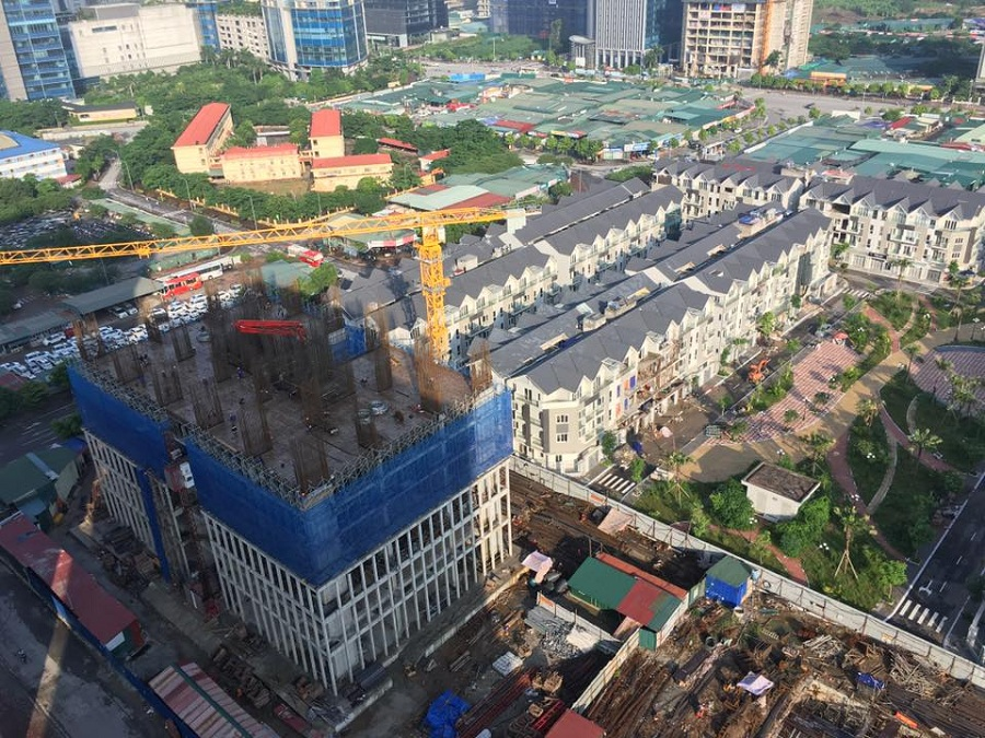 Chung cư A10 Nam Trung Yên