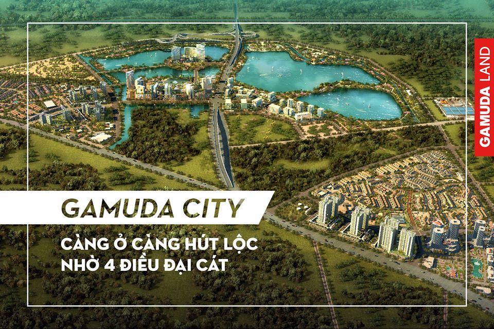 Dự án Gamuda City Pháp Vân