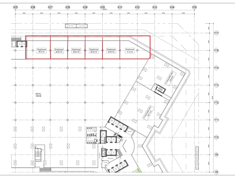 shophouse khối đế chung cư central residence hoàng mai