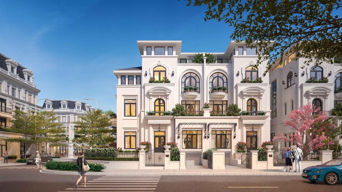 Giá bán biệt thự Louis City Hoàng Mai