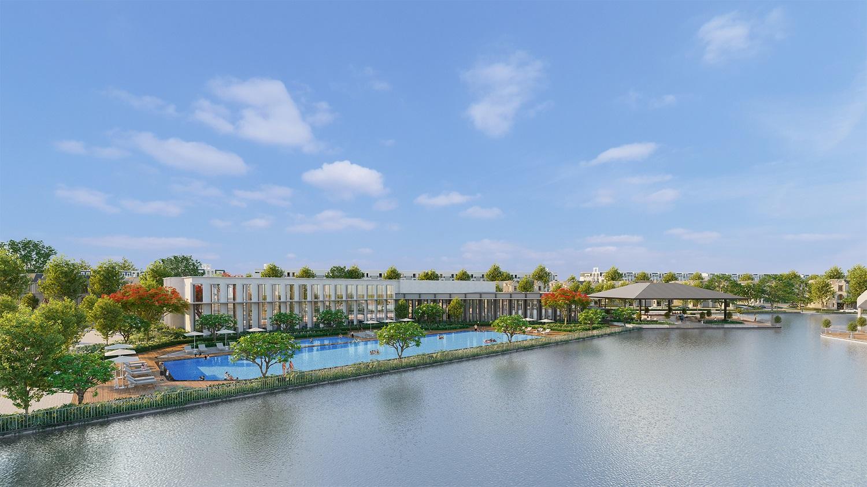 Clubhouse  dự án Hinode Royal Park