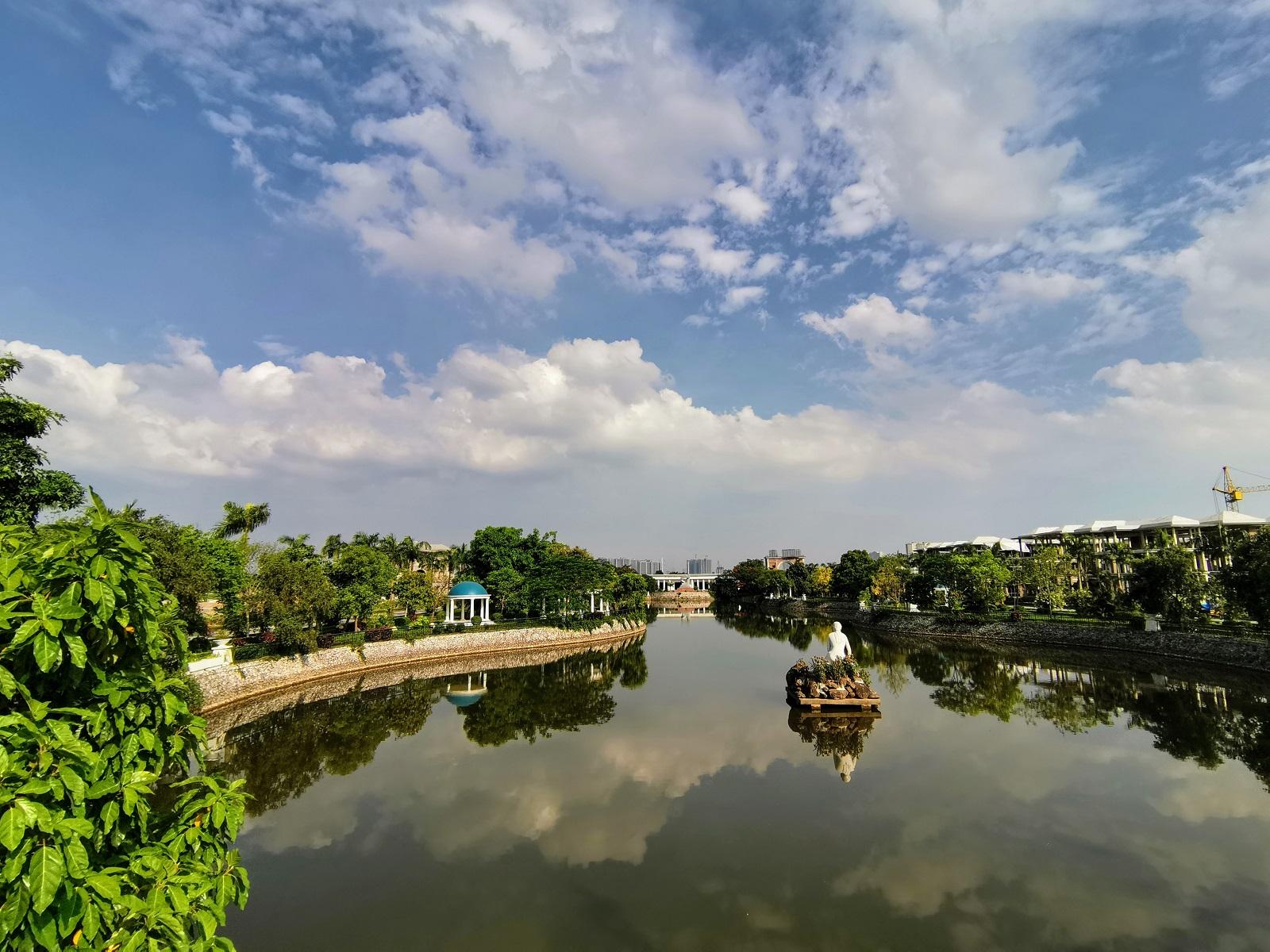 Hồ biệt thự Vườn Cam