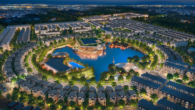 Hồ trung tâm  dự án Hinode Royal Park