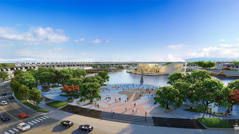 Quảng trường dự án Hinode Royal Park