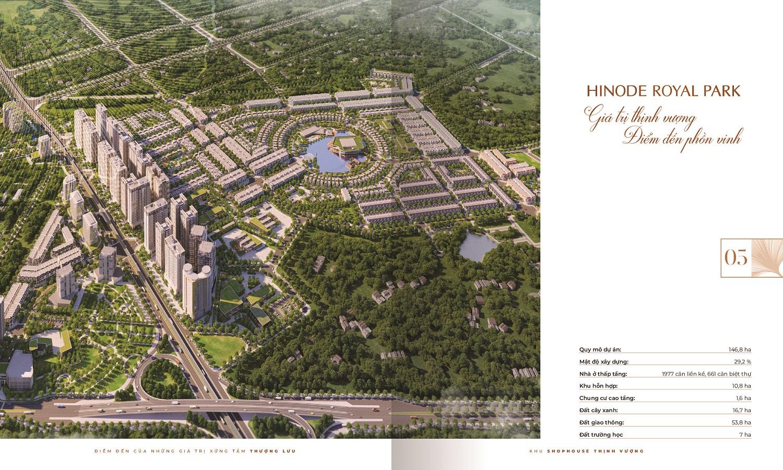 Quy mô dự án Hinode Royal Park