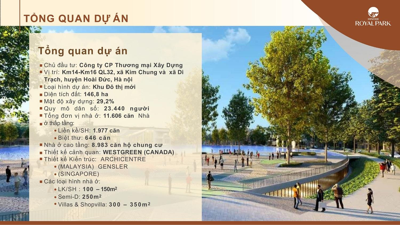 tổng quan dự án Hinode Royal Park