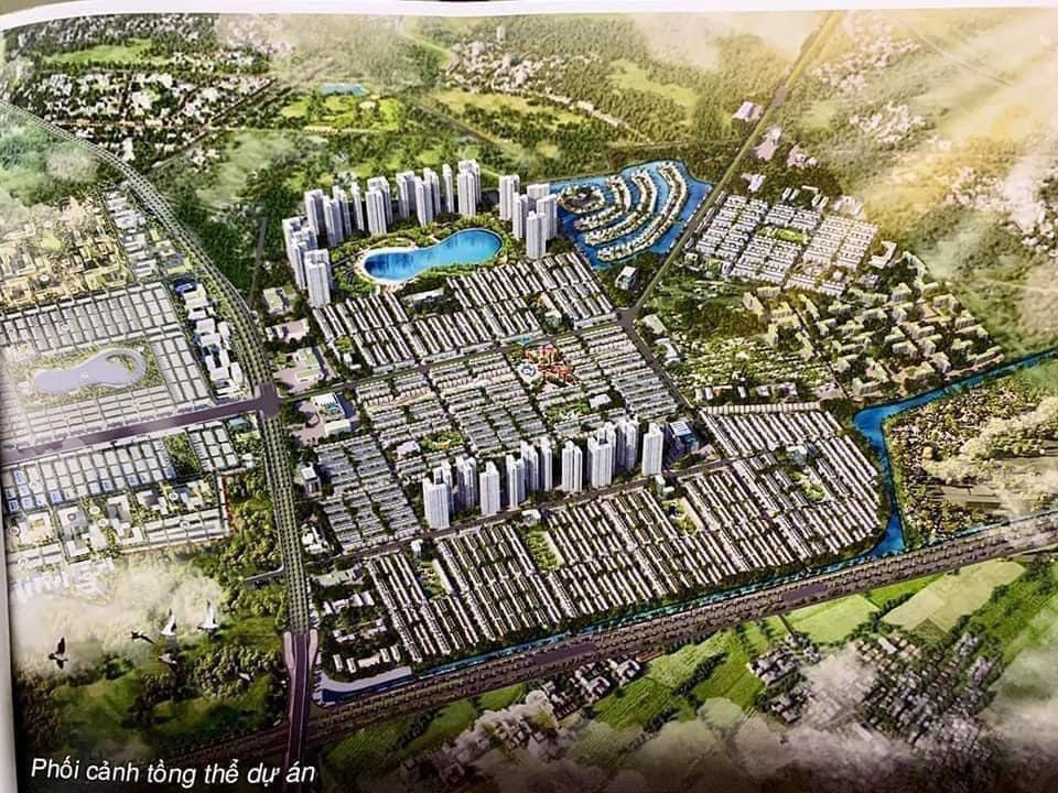 Mặt bằng tổng thể Vinhomes Dream City Văn Giang, Hưng Yên