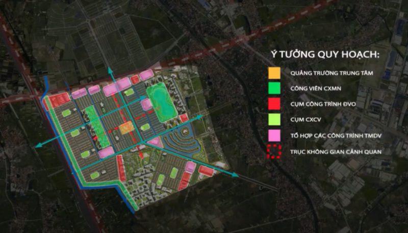Quy hoạch Vinhomes Dream City